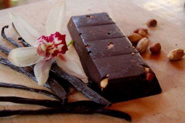 usare il cioccolato