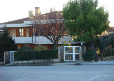 cancello-strada-appartamento-B&B-Girovagando-Porto-Sant-Elpidio-
